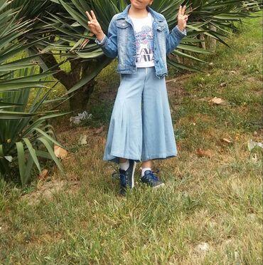 zhenskie rozovye bryuki в Азербайджан: Yubka bryuki salvar 7 yas.35 azn e alinib