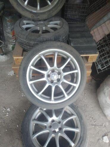 шины цены в Кыргызстан: Продаю диски 17 комплект летний шиной, цена 250$