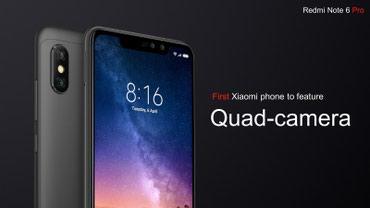 Xiaomi redmi note 3 pro 3 32gb silver - Azerbejdžan: Novo Xiaomi Redmi Note 6 Pro 32 GB crno