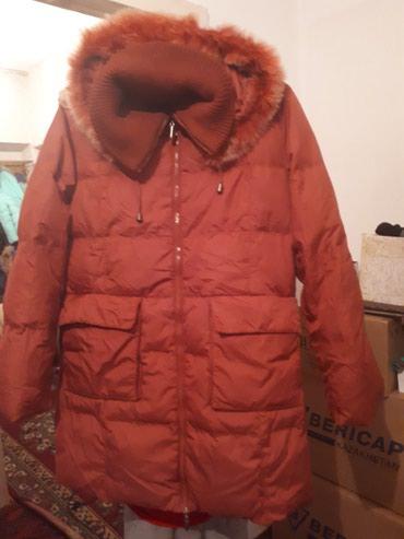 Куртка женская.  Размер 46-48. Состояние хорошее. Зимняя, теплая. в Бишкек