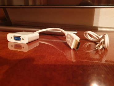 переходник-для-жесткого-диска-usb в Кыргызстан: Hdmi to vga (переходник, новый, в коробке, 2шт.)тэц, глобусдоставка