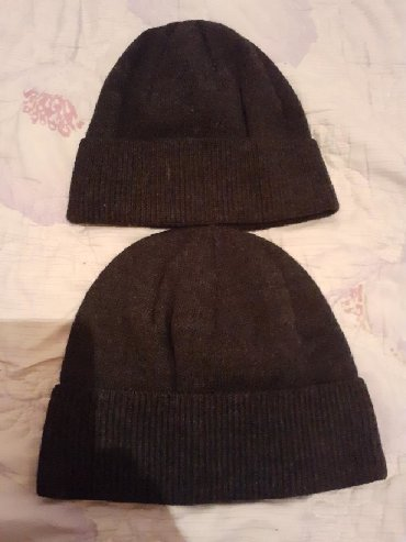 Головные уборы - Кыргызстан: Продаю мужские шапки хорошие есть чёрные и коричневые по 100 сом