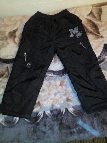 Штаны почти новые тёплые , очень хорошего качества 4-6 лет в Бишкек