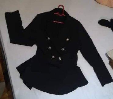 Sako strukiran - Srbija: Nov crni sako, strukiran model