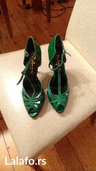 Novo! Zelene sandale,vel. 6 kupljene u inostranstvu. Duzina gazista - Pancevo