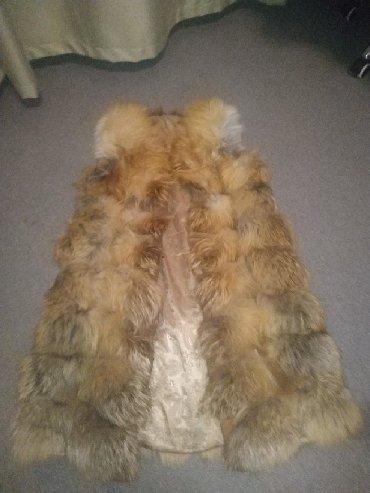 жилет лиса в Кыргызстан: Жилетка из меха лисы.торг уместен