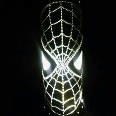 Rasveta | Varvarin: Decija lampa Spiderman NOVO NOVOIzrada lampi I lustera kao I 3D lampi