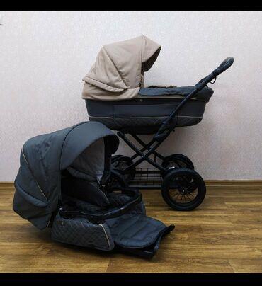 крашеные диски фото в Кыргызстан: Продаю коляску фирменную 2в1. Почти новая. Без пятен. В отличном