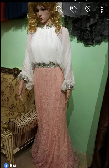 Bakı şəhərində Вечернее платье 2 цвета есть. розовое 38размер и зеленое 38размер