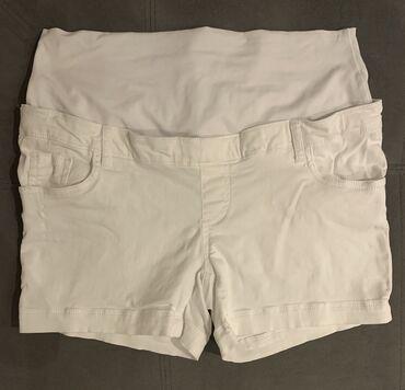 Personalni proizvodi - Srbija: Šorc je bele boje, u L veličini, idealan za trudnice tokom toplih