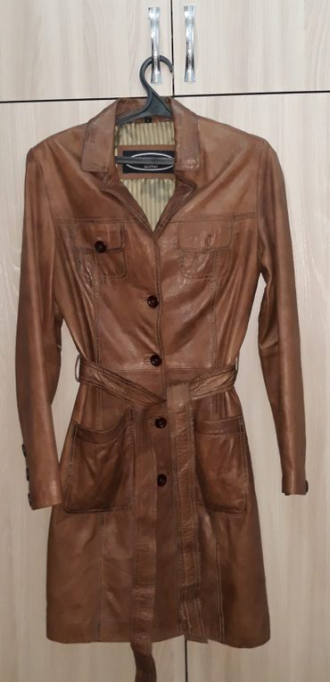 Кожаный плащ Kenvelo Leather (Турция). Очень в Бишкек