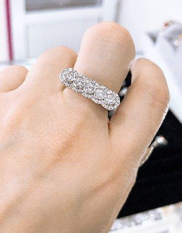 серебро оптом из турции в Кыргызстан: Новое серебряное кольцо из пяти камней Самый лучший подарок для ваших