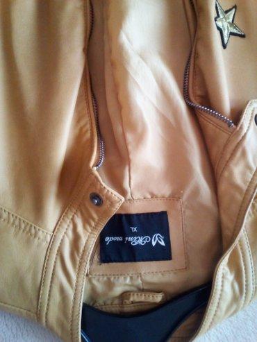 ΣΕΒΗ Δερματινο μπουφαν αψογο μια φορα φορεμενο!! σε Γαλατάς - εικόνες 3