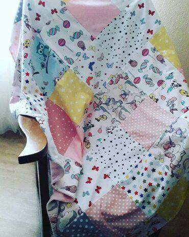 Nameštaj - Smederevska Palanka: Minky prekrivac za bebe od 100% pamuka sa jedne strane koja je sarena