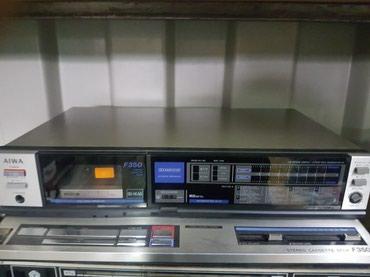 Продаю кассетную деку Aiwa f350 в Бишкек