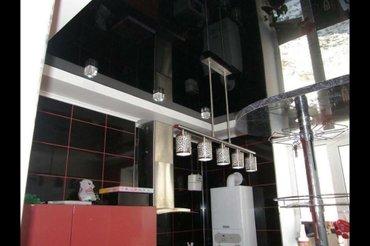 Натяжной потолок на кухне не только в Лебединовка