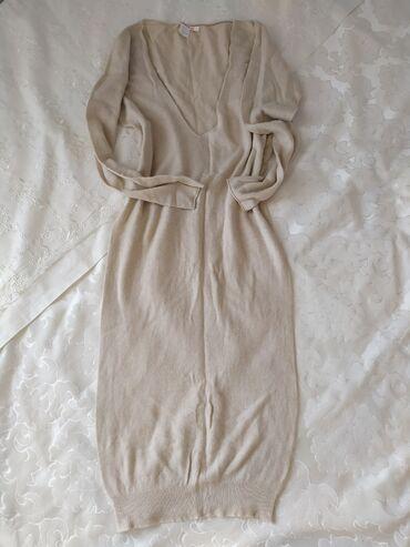 uslugi mashiny s kranom в Кыргызстан: Теплое платье от фирмы Kontatto. Размер S/M