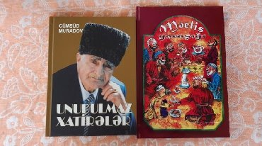 Kitab, jurnal, CD, DVD Azərbaycanda: Cümşüd Muradov Muradovun kitab kitabları Unudulmaz Xatirələr