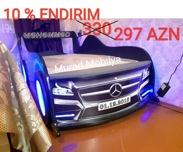 Bakı şəhərində Avtomobil çarpayı Mercedes