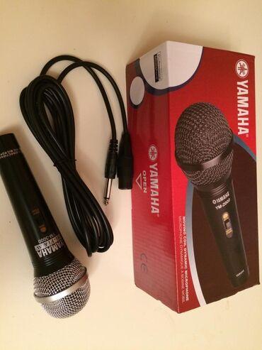 Mikrofonlar - Azərbaycan: Mikrafon Yamaha en serfeli qiymetlere yalniz bizde keyfiyyetli