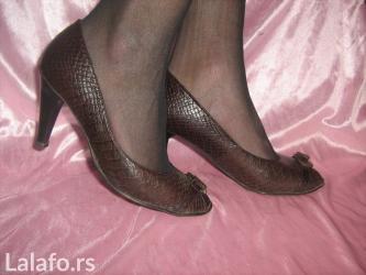 Carape sa prstima - Srbija: Vrlo lepe cipele sa otvorenim prstima br 37 UDOBNE