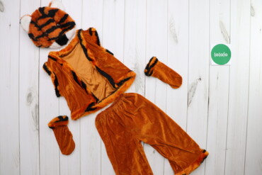 Дитячий карнавальний костюм Тигреня    Довжина жилетки: 34 см Ширина п