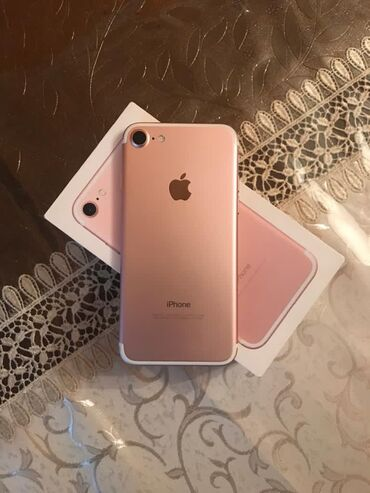 Yeni iPhone 7 32 GB Cəhrayı qızıl (Rose Gold)