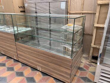 витринный холодильник купить в Кыргызстан: Новый Холодильник-витрина Бежевые холодильник