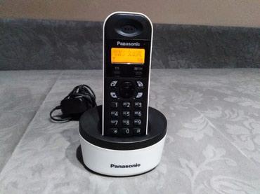 Dobar Panasonic bezicni fiksni telefon,beli.. - Kraljevo