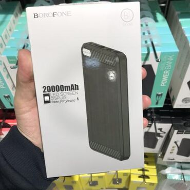 BOROFONE BT6 Xpower, mobil enerji bankı, 20000mAh tutumu, Micro-USB /