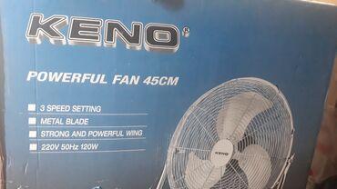 Kosa na klipse - Priboj: Podni ventilator vrlo malo koriscen vise komada na stanju