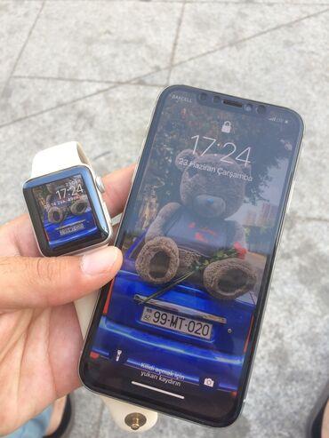 IPhone X | 64 GB | Gümüşü | İşlənmiş | Face ID