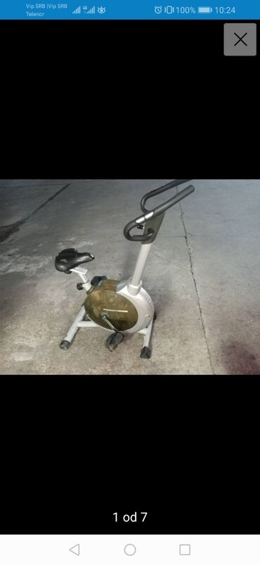 Sobni bicikl - Srbija: Sobna bicikla u ispravnom stanju. Pisati ili zvati za vise