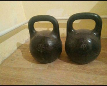 Продаю 2 гири по 32 кг в хорошем в Бишкек