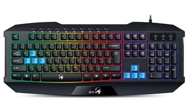 Bakı şəhərində Oyun Klaviaturasi. Genius Scorpion K215. Isiqli klaviaturadir. Eng /