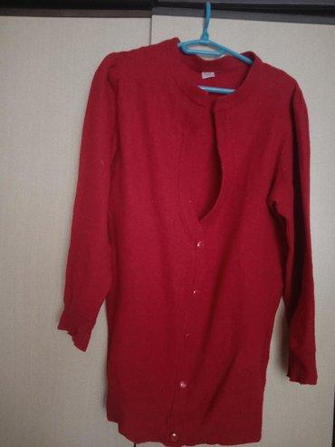 Ženski crveni džemper od šetlanda,univerzalna veličina