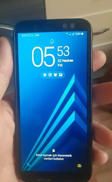 audi a4 32 fsi - Azərbaycan: İşlənmiş Samsung Galaxy A6 32 GB qara