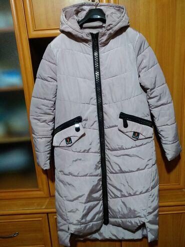 Продам Женскую Зимнюю курткуЦвет светло-розовыйРазмер 46-48Состояние