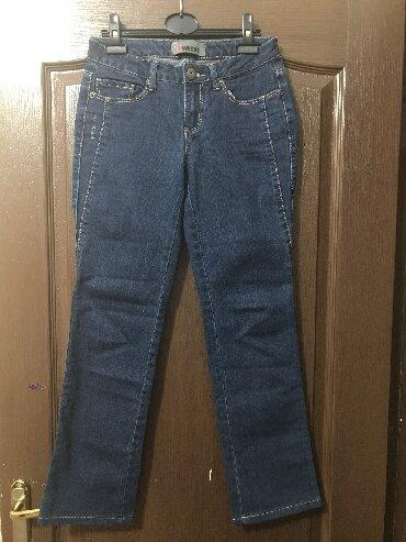 женские джинсы армани в Кыргызстан: Продаю джинсы женские, в хорошем состоянии, размер 44