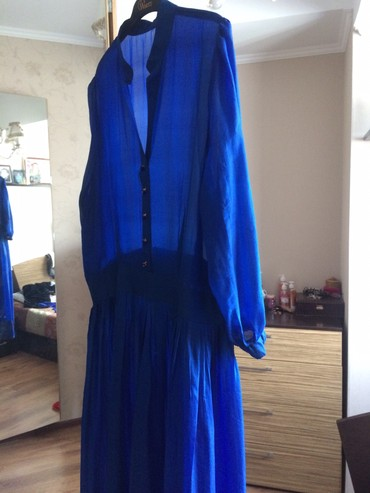 Платья в Ат-Башы: Платье новое. Инд.пошив на 48-50рр Вечерний вариант. 3000с