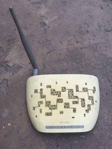 роутер-tp-link-740 в Кыргызстан: Роутер Tp-link 150мбит/с Состояние на фотоПолностью рабочийЕсть