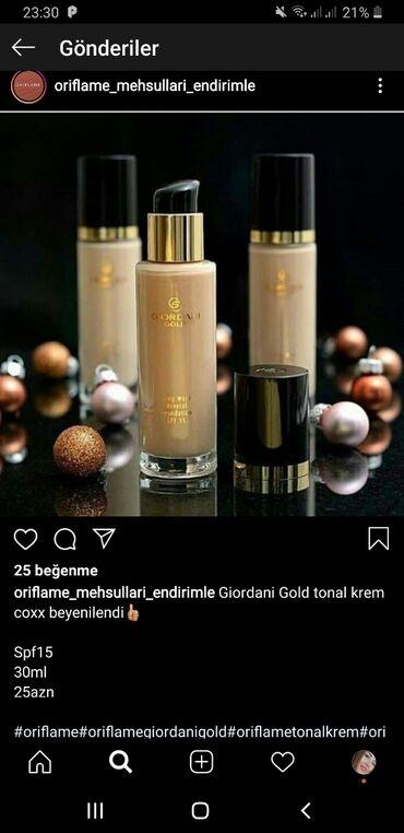 mac tonal krem - Azərbaycan: Giordani Gold tonal krem