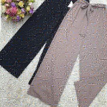 Кюлоты. Ткань плотный штапель. Производство Бишкек. Цена 700с