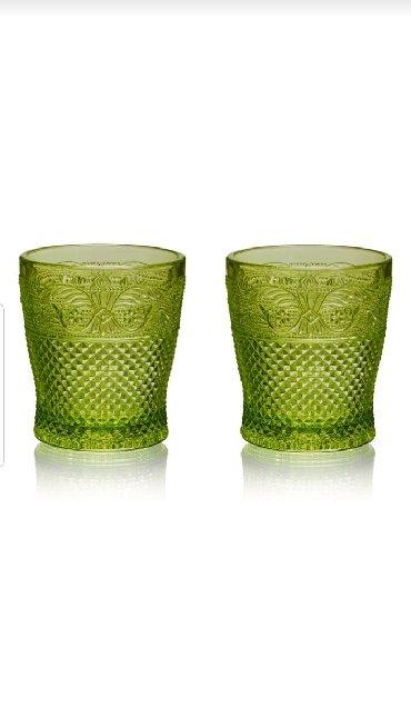 стеклянные стаканы в Кыргызстан: Стеклянные стаканы КРАСИВО УКРАСЯТ ЛЮБОЙ СТОЛ(2шт в наборе)необычного