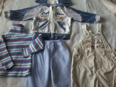 продаю детсие костюмчики от 1 до 2 лет. в отличном состоянии. комбинез в Бишкек