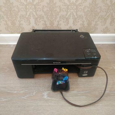 13200 объявлений: Цветной принтер, 3в1, МФУ, печатает, копирует, сканирует Epson