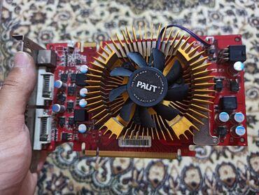 видеокарту gf 9800 в Кыргызстан: Продаю видеокарту 9600gt 512mb 256bit ddr3 доп питание 6 пин