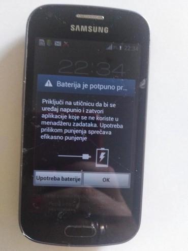 Mobilni telefoni - Paracin: Samsung Galaxy Trend - S7560. Sve radi, osim touch, ekran je razbijen