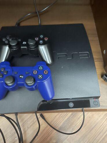 джойстик для фри фаер в Кыргызстан: Sony PS3 Slim, 500гб, состояние отличное 10 игр в комплекте 3