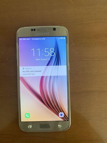 audi s6 52 fsi - Azərbaycan: İşlənmiş Samsung Galaxy S6 32 GB qızılı